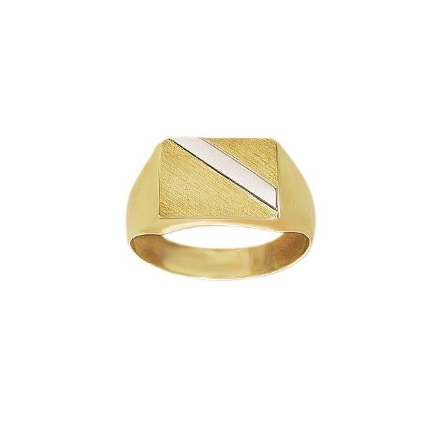 8 kt Herre ring  - 0871336R