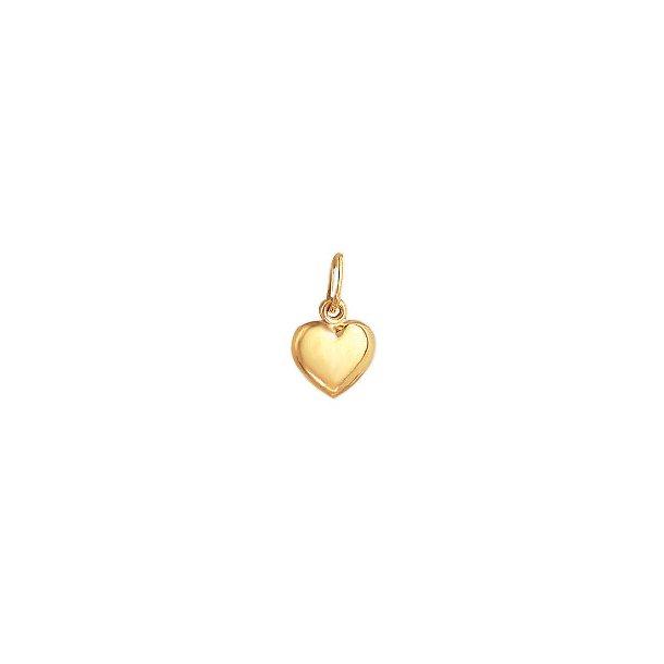 Aagaard 8 kt Hjerte vedhæng  - 0880516