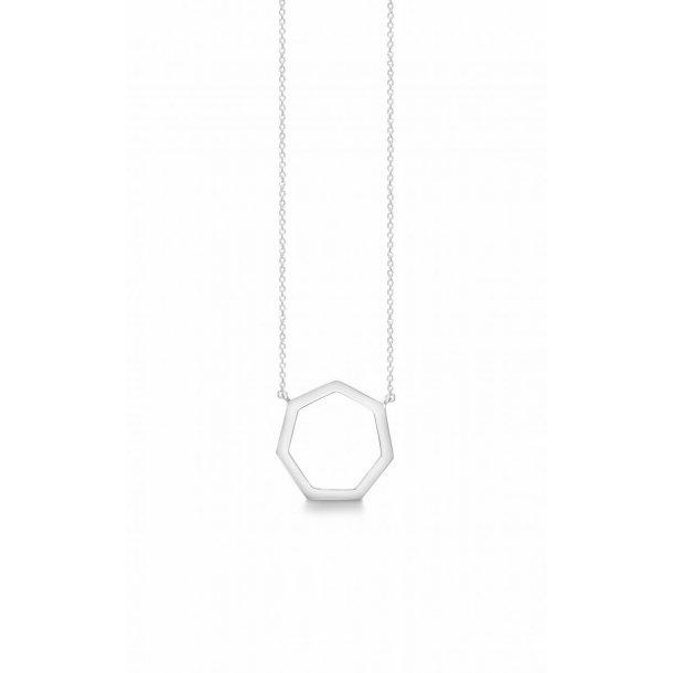 Aagaard Sølv vedhæng med kæde - 11301931-80