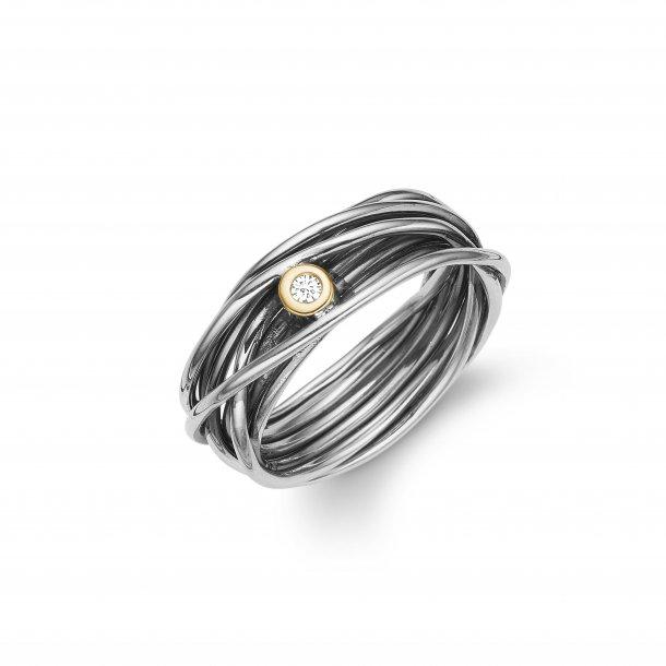 Aagaard Sølv ring - 11641528-34