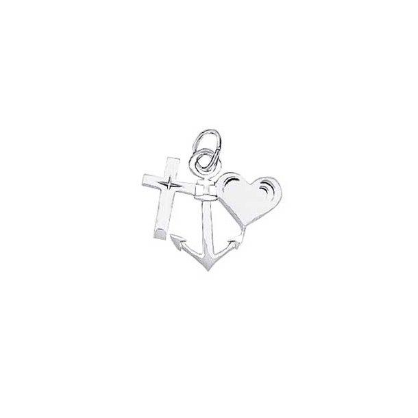 Aagaard Sølv vedhæng tro,håb og kærlighed - 1181145