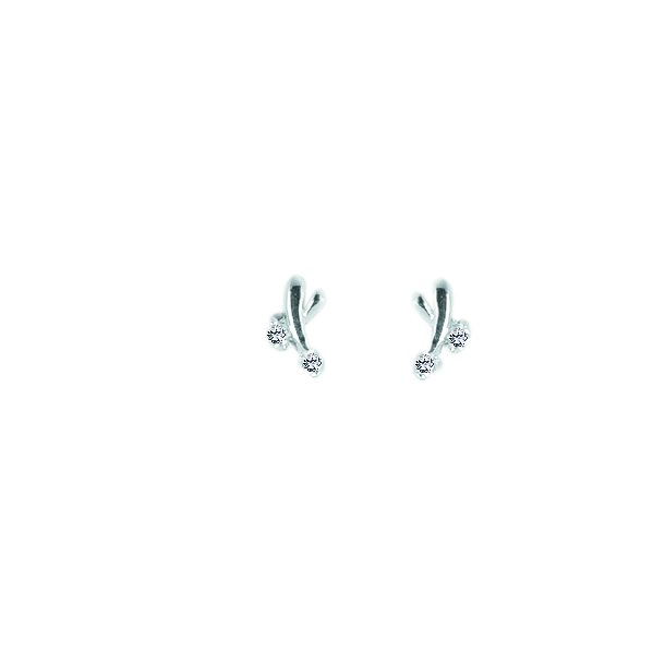 Aagaard Sølv ørestikker  - 2192446-75Ø