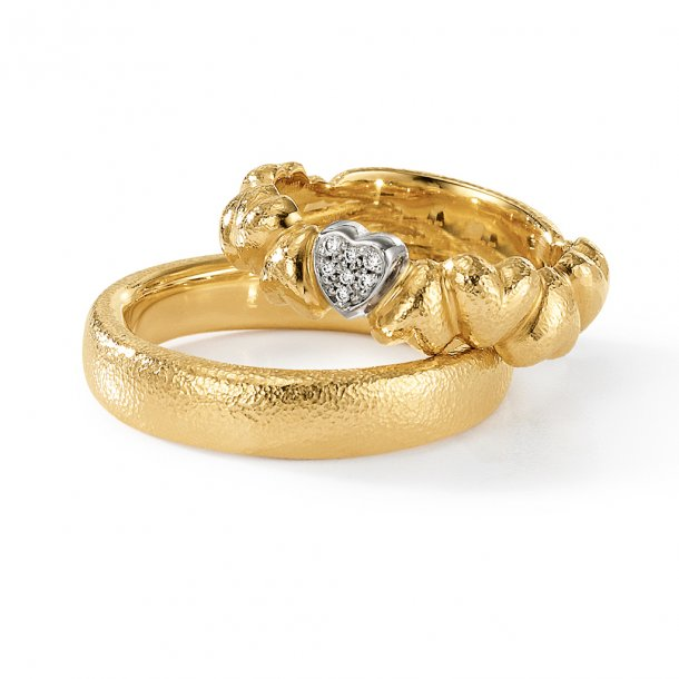 Aagaard 14 kt Heart by Heart ring - R121149130207B
