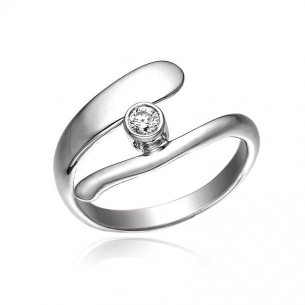 Blicher Fuglsang Sølv ring - 1286-39R