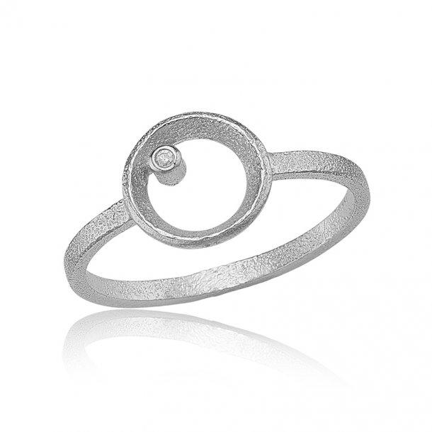 Blicher Fuglsang Sølv ring - 1301-39R