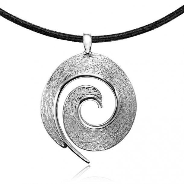 Blicher Fuglsang Sølv vedhæng med kæde - 2387-00R