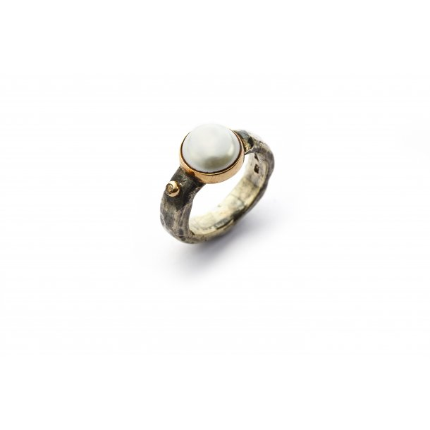 By Birdie Ring Anyique Pearl & Diamond - 50110100P