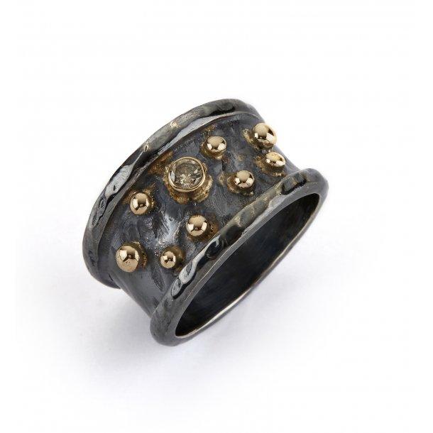 By Birdie Ring Empire Silver Slim ring  - 50110122