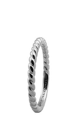 CHRISTINA Sølvring Rope - 0.1A Størrelse 49