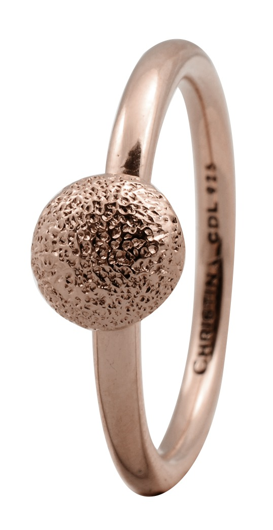 CHRISTINA Rose Sølvring Shine - 1.7C Størrelse 49