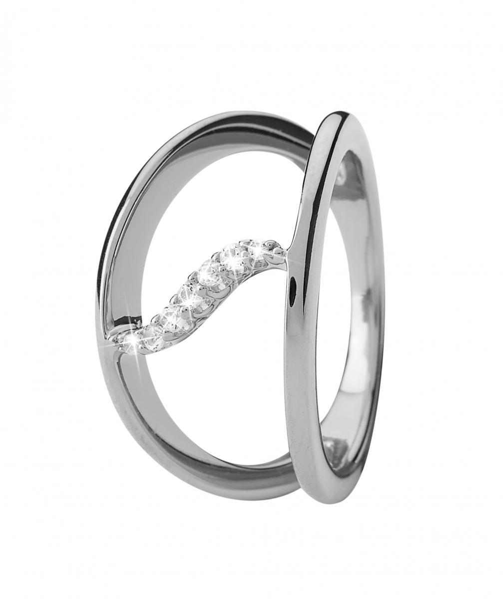 Christina Topaz Wave sølv ring - 3.15A Størrelse 49