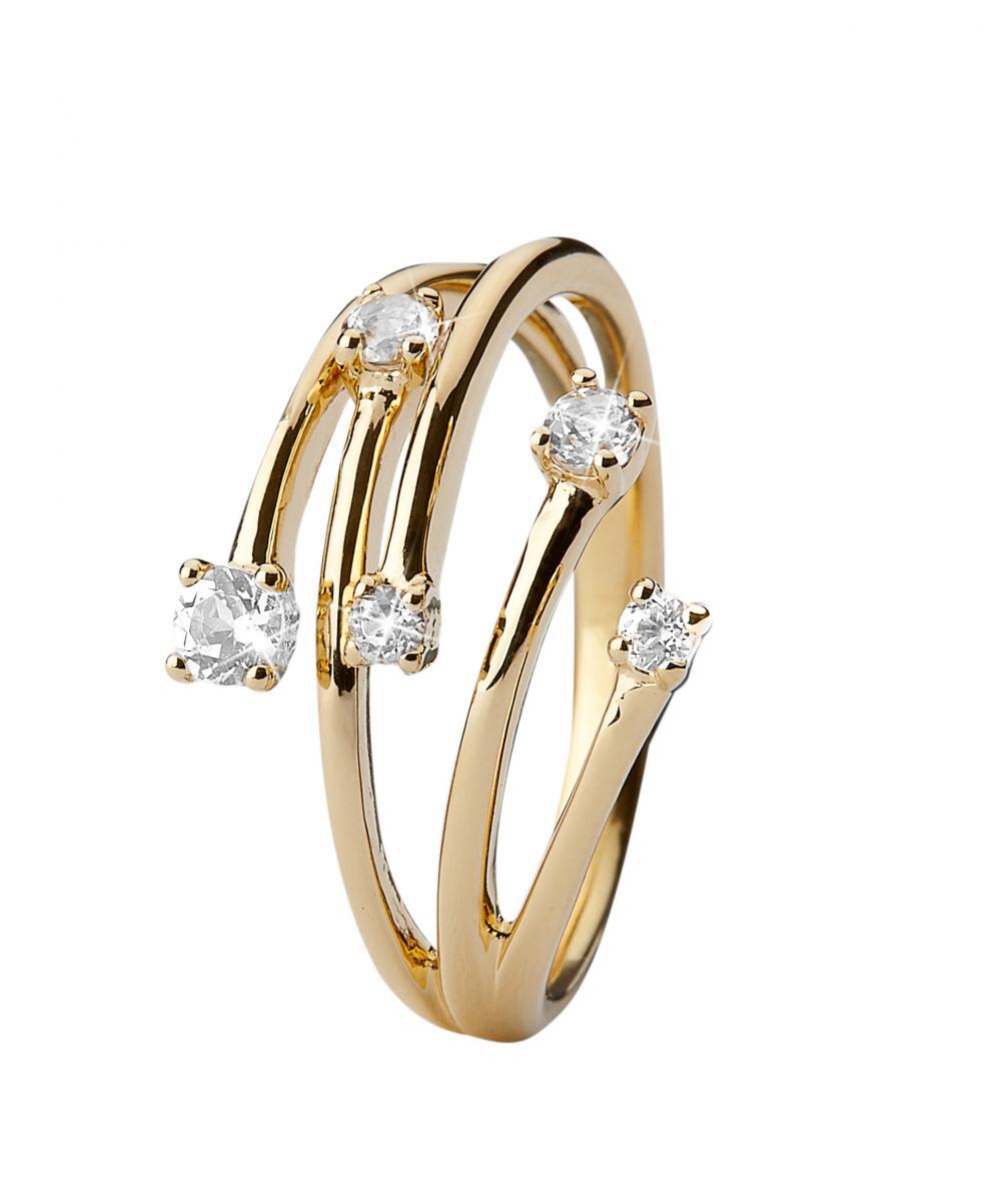 Christina Your Choice Forgyldt Ring - 3.16B Størrelse 51