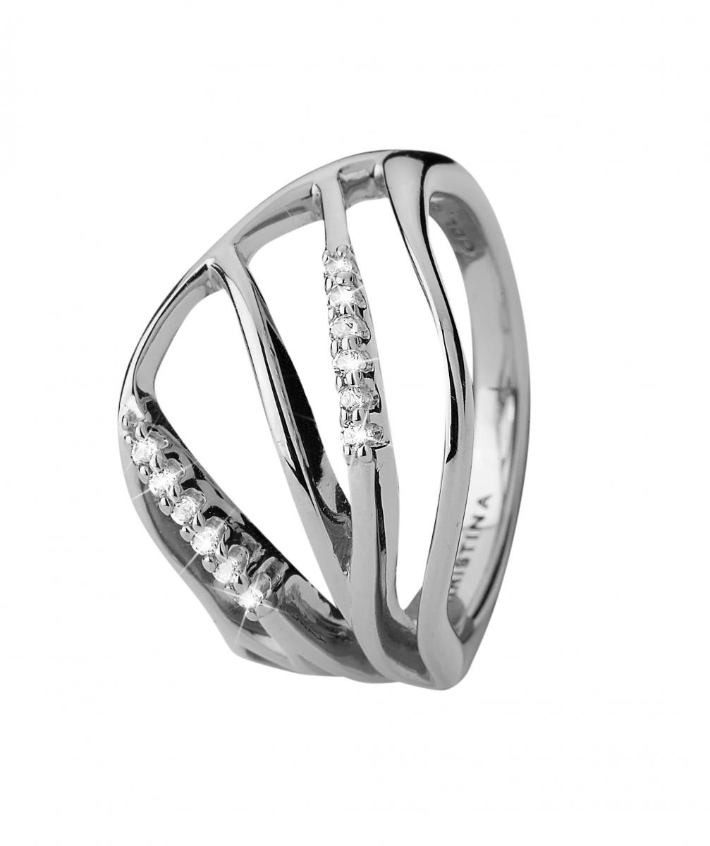 Christina Energy Sølv Ring - 3.17A Størrelse 51