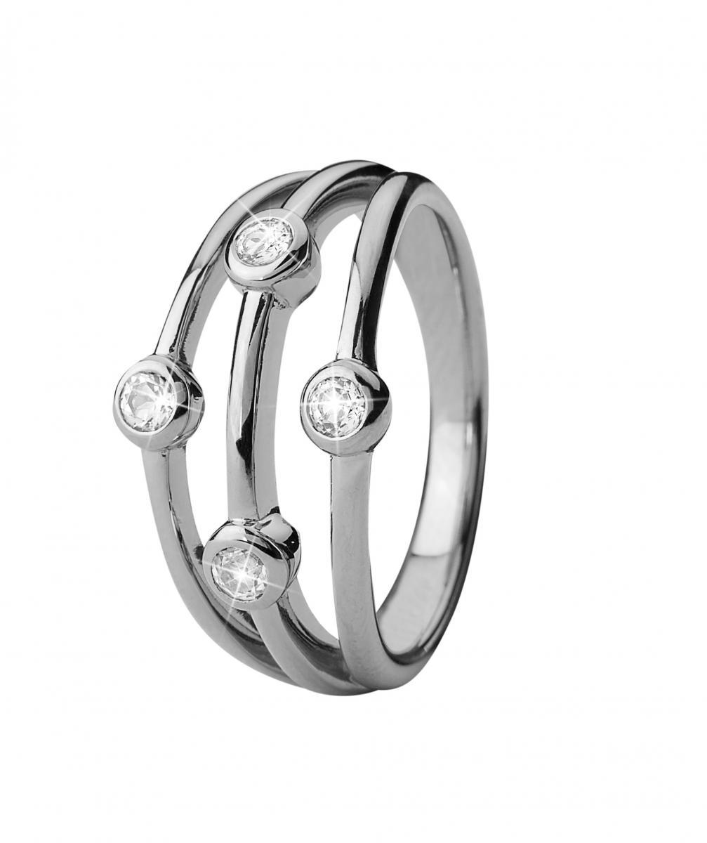 Christina Thrown sølv ring - 3.18A Størrelse 51