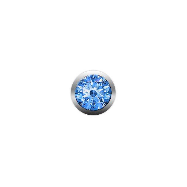CHRISTINA Blue Sapphire gemstone - 603-BLUE
