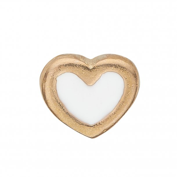 CHRISTINA Collect White Enamel Heart - 603-G3