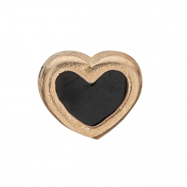CHRISTINA Collect Black Enamel Heart - 603-G4