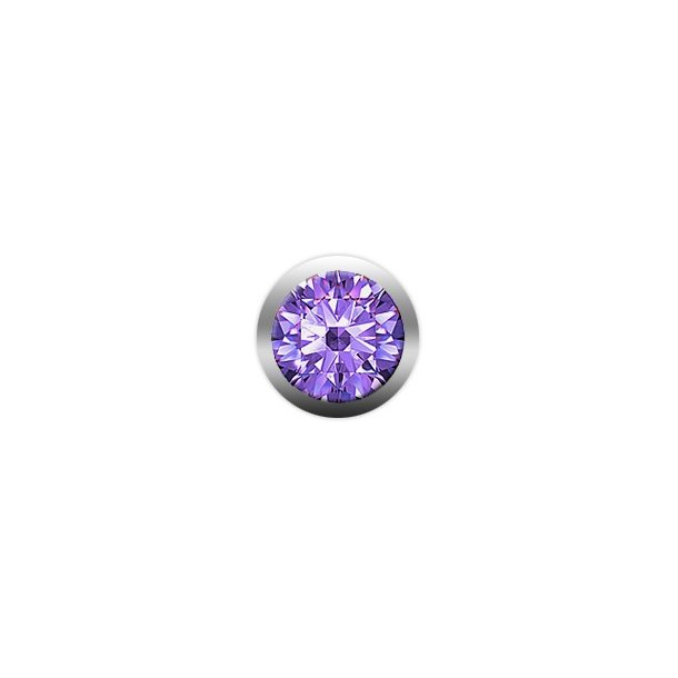 CHRISTINA Purple Amatyst gemstone - 603-PURPLE