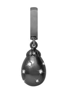 CHRISTINA Black Sapphire Star Drop - 610-B06WHITE