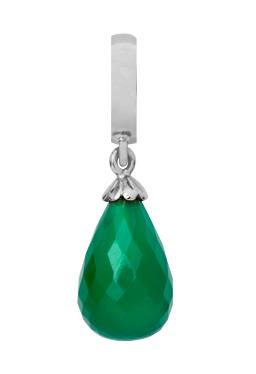 CHRISTINA Green Onyx drop - 610-S01GREEN