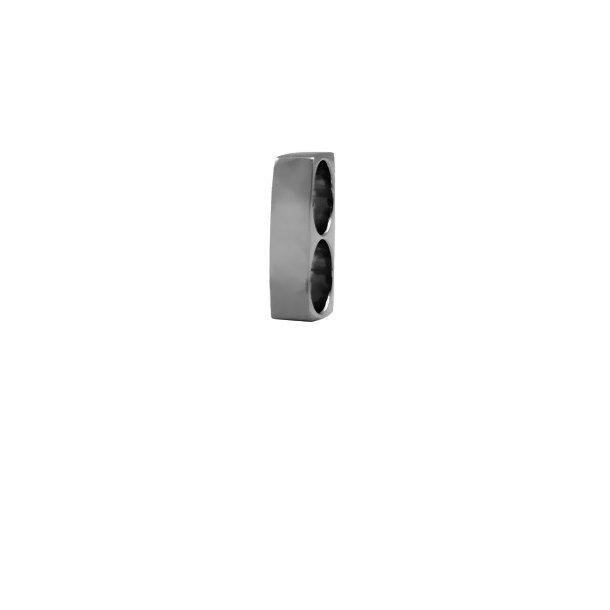 CHRISTINA Black Double Charm basic - 630-B12