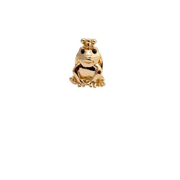 CHRISTINA Forgyldt Topaz Frog - 630-G36