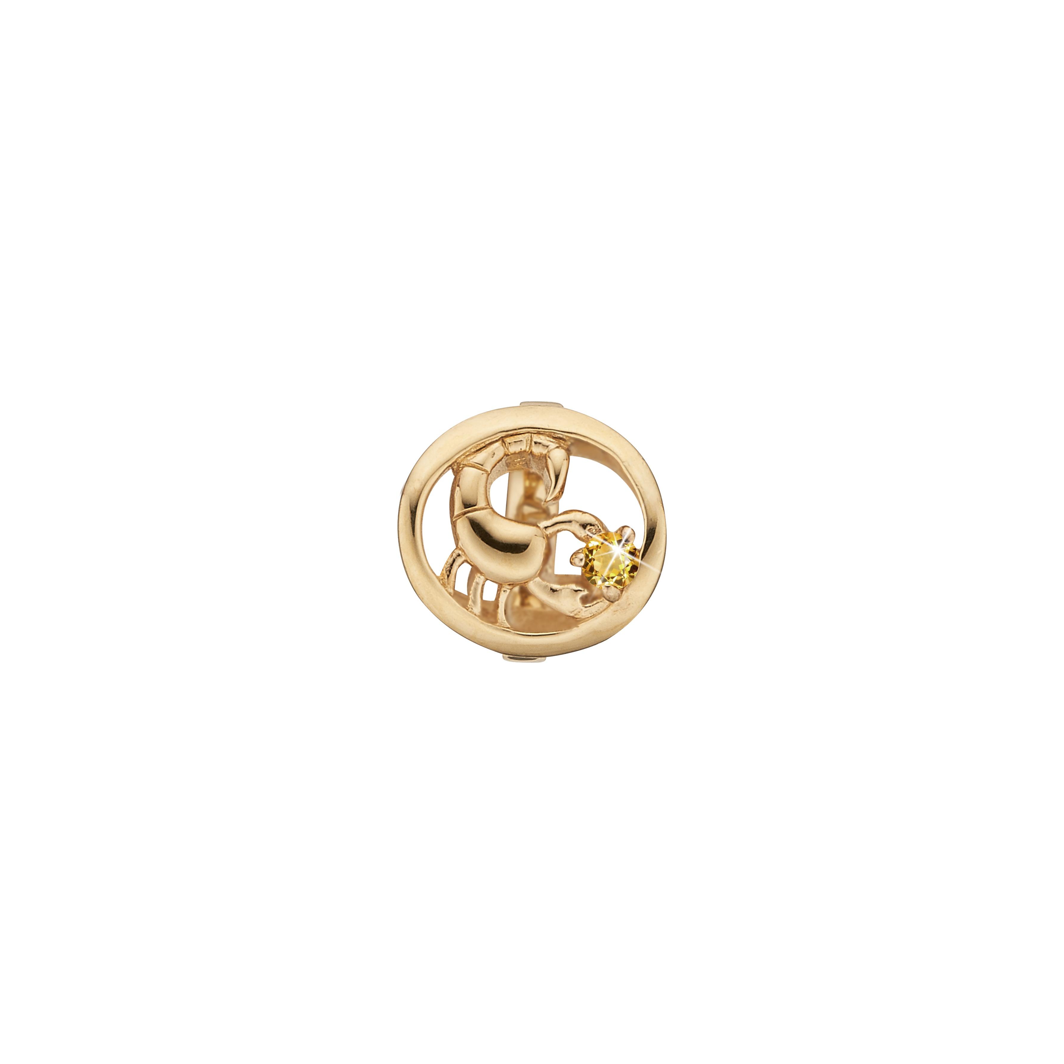 CHRISTINA Charm skorpion - 630-G67-10