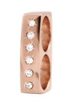CHRISTINA Rose Double charm Sapphires - 630-R13WHITE