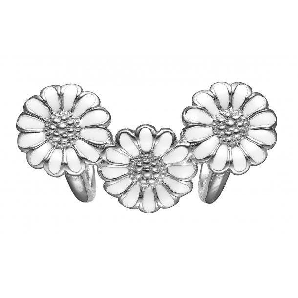 CHRISTINA White marguerite trinity - 630-S116WHITE