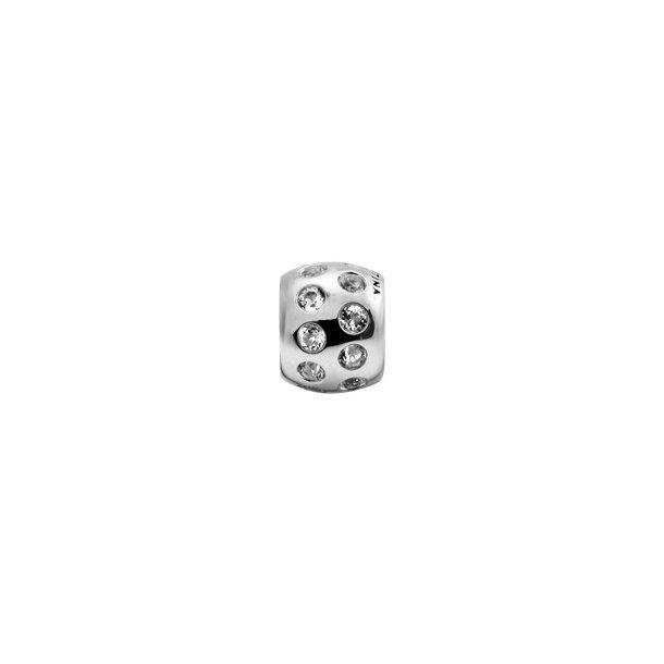 CHRISTINA Sølv Topaz Dream Pavé - 630-S63