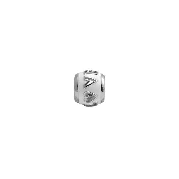 CHRISTINA Sølv Enamel Love - 630-S65
