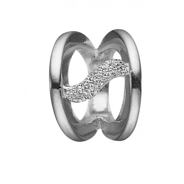 Christina simplicity sølv charm - 630-S88