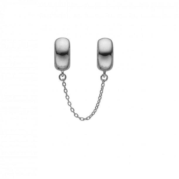 Christina safety charm sølv - 630-S97