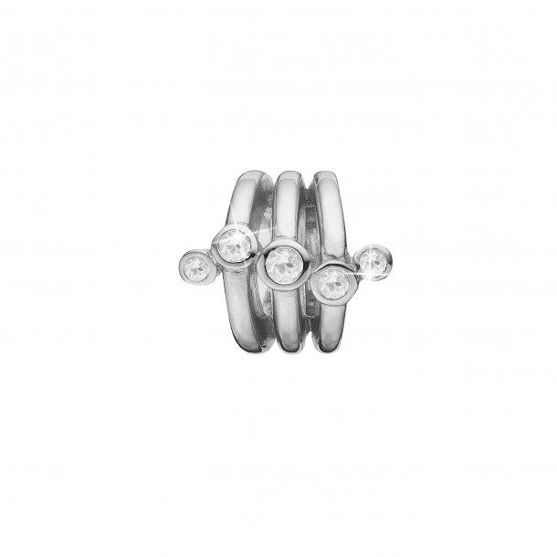 Christina stream sølv charm - 630-S98