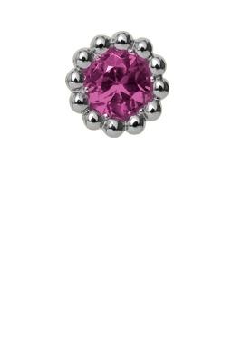 CHRISTINA Pink Ruby Flower - 650-S07PINK
