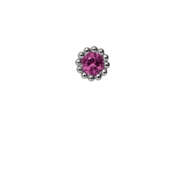 CHRISTINA Pink Ruby Flower - 650-S07PINK