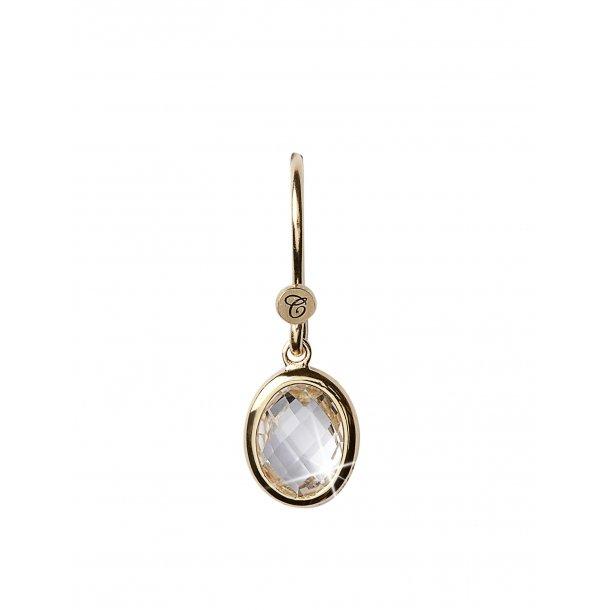 CHRISTINA Crystal dream øreringe - 670-G01WHITE