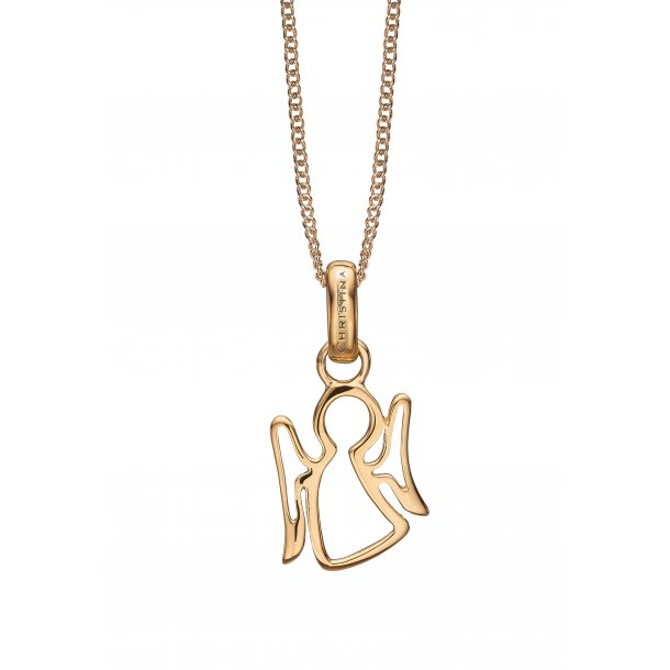 Christina angel necklace - 680-G18-55