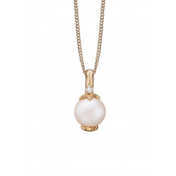 Christina Topas Pearl halskæde - 680-G21-55