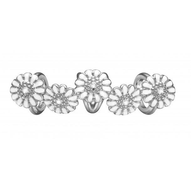 CHRISTINA White marguerite quintet - 630-S112WHITE
