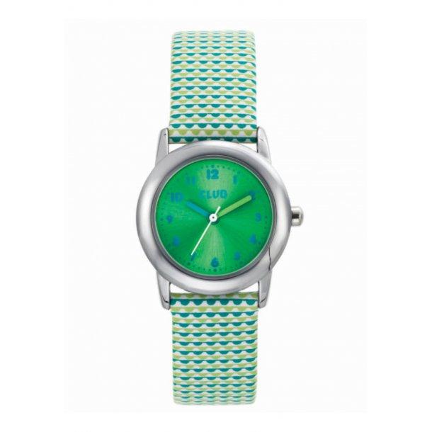CLUB pige ur med lys grøn rem - A65183-1S12A