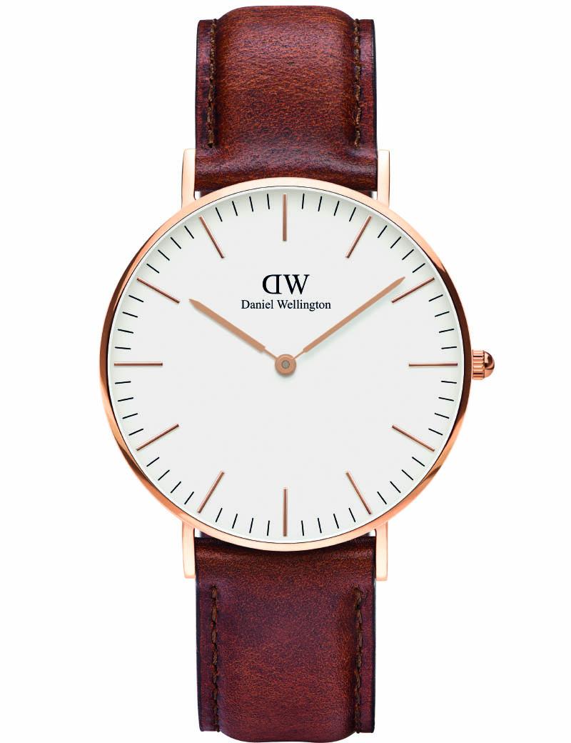 Daniel wellington classic st mawes - adw00100035 fra daniel wellington fra brodersen + kobborg