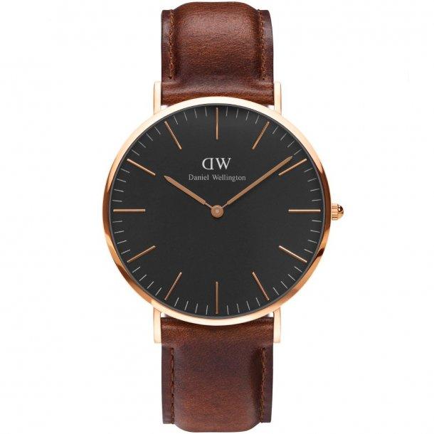Danile Wellington Classic Black St Mawes - ADW00100124