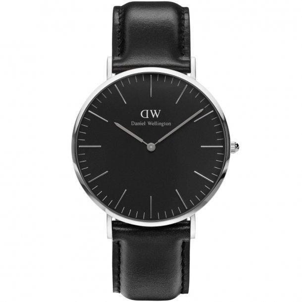 Daniel Wellington Classic Black Sheffield - ADW00100133