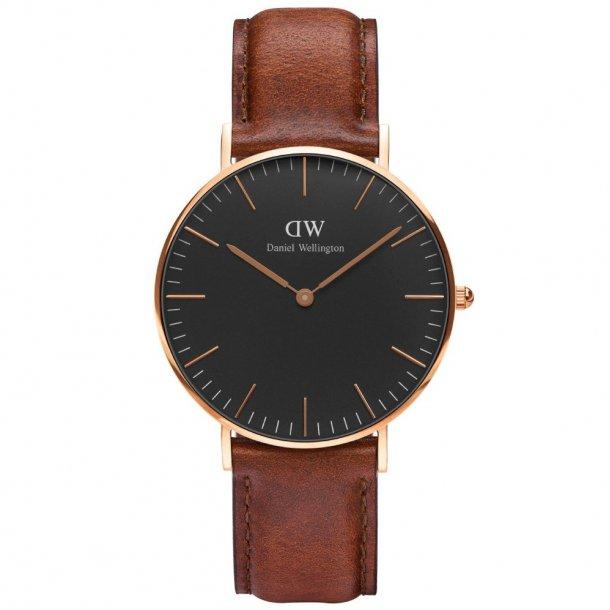 Daniel Wellington Classic Black St Mawes - ADW00100136