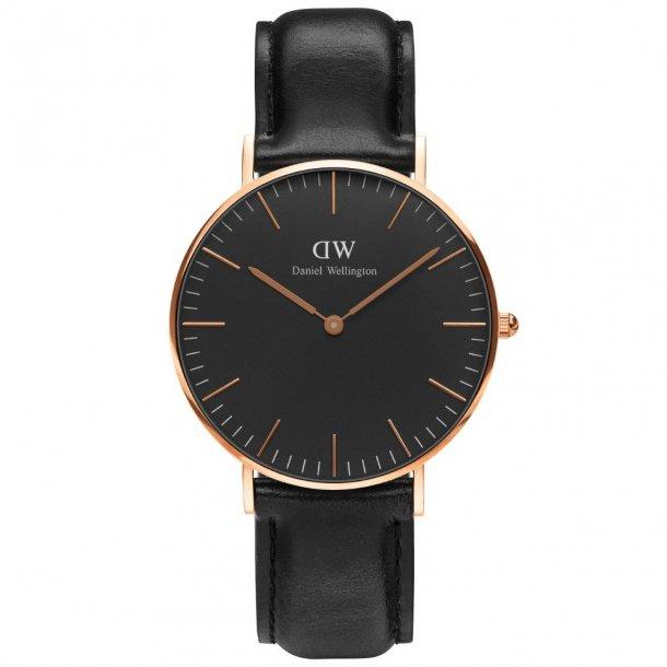 Daniel Wellington Classic Black sheffield - ADW00100139