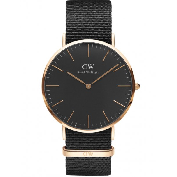Daniel Wellington Classic Black Cornwall - ADW00100148