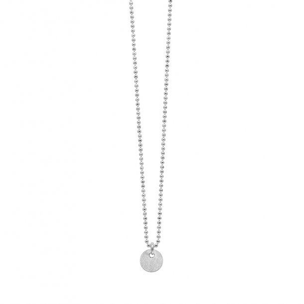 Enamel Sølv halssmykke - kuglekæde - ECKH4538925S