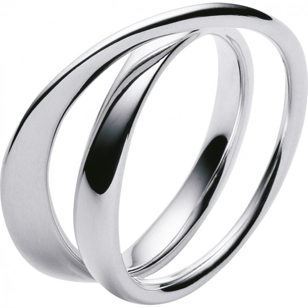 Georg Jensen MÖBIUS ring - 3552340