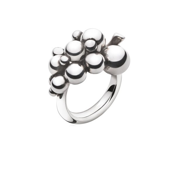 Georg Jensen MOONLIGHT GRAPES ring  - 3558680
